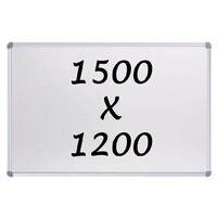 Whiteboards Direct Magnetic Whiteboard 1500 x 1200mm Writing Board Commercial 10y Warranty