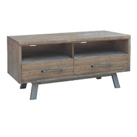 Homefurn TV Entertainment Unit Small Reclaimed Timber 1350mm Paterson Heritage Wharf 6729 PTS-D