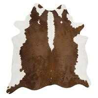 Rug Culture Exquisite Natural Cow Hide Hereford 170x180cm