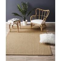 Rug Culture Natural Sisal Flooring Rugs Area Carpet Herring Bone Sand 220x150cm