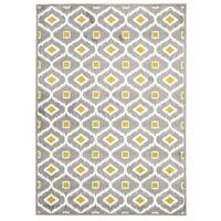 Rug Culture Indoor Outdoor Bianca Flooring Rugs Area Carpet Grey Citrus 230x160cm
