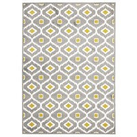 Rug Culture Indoor Outdoor Bianca Flooring Rugs Area Carpet Grey Citrus 290x200cm