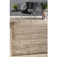 Rug Culture Thick Soft Polar Shag Flooring Rugs Area Carpet - Latte 170x120cm