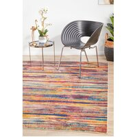 Rug Culture Strokes Modern Raspberry Flooring Rugs Area Carpet 230x160cm