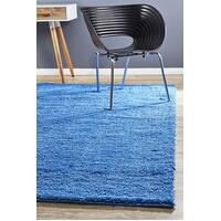 Pack of 2 Awesome Shag Flooring Rug Area Carpets Blue 130x70cm