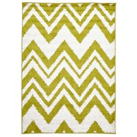 Rug Culture Chevy Shag Flooring Rugs Area Carpet Lime 230x160cm