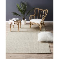 Natural Sisal Runner Herring Bone Marble 300x80cm