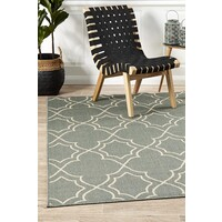 Rug Culture Casablanca Teal Outdoor Flooring Rugs Area Carpet 220X150cm