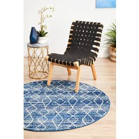 Rug Culture Culture Blue Transitional Flooring Rugs Area Carpet 200x200cm