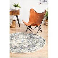 Rug Culture Mist White Transitional Flooring Rugs Area Carpet 240x240cm