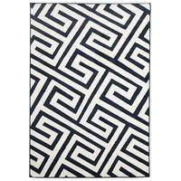 Rug Culture Indoor Outdoor Dolce Flooring Rugs Area Carpet Navy 230x160cm