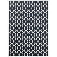 Rug Culture Indoor Outdoor Neo Flooring Rugs Area Carpet Navy 230x160cm
