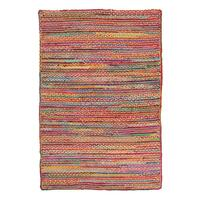 Expo Jute and Cotton Flooring Rug Area Carpet Multi 220x150cm