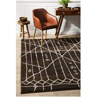 Rug Culture Morrocan Tribal Design Flooring Rugs Area Carpet Chocolate 230x160cm