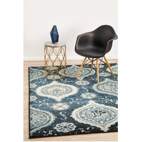 Rug Culture Opulance Heritage Flooring Rugs Area Carpet Navy 230X160cm