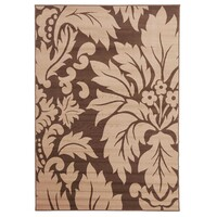 Rug Culture Dark Brown and Light Brown Pattern Flooring Rugs Area Carpet 330x240cm