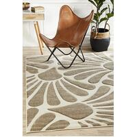 Rug Culture Damask Modern Fern Flooring Rugs Area Carpet Natural 290x200cm