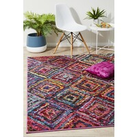 Rug Culture Dawson Modern Multi Coloured Flooring Rugs Area Carpet 230x160cm