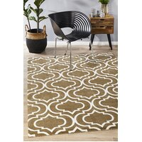 Modern Trelliss design Flooring Rug Area Carpet Ash 320x230cm