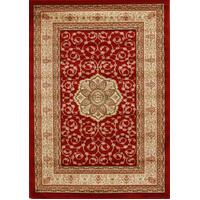 Rug Culture Medallion Classic Pattern Runner Red 400x80cm