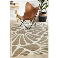 Rug Culture Damask Modern Fern Flooring Rugs Area Carpet Natural 230x160cm