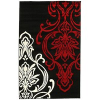Rug Culture Stunning Thick Designer Runner Black 300x80cm