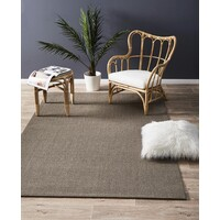 Rug Culture Natural Sisal Flooring Rugs Area Carpet Boucle Grey 160x110cm