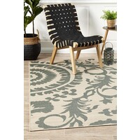 Rug Culture Royal Teal Outdoor Flooring Rugs Area Carpet 320X230cm