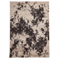 Rug Culture Rembrandt Designer Flooring Rugs Area Carpet Ivory Brown 230x160cm
