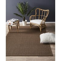 Rug Culture Natural Sisal Flooring Rugs Area Carpet Boucle Brown 160x110cm