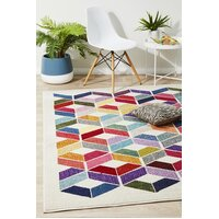 Rug Culture Digital Modern Multi Coloured Flooring Rugs Area Carpet 330x240cm