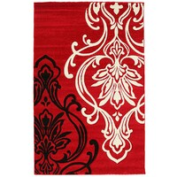Rug Culture Stunning Thick Designer Runner Red 300x80cm