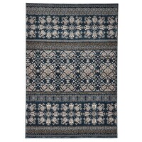 Rug Culture Urban Tribe Designer Flooring Rugs Area Carpet Blue 290X200cm