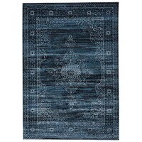 Rug Culture Kings Court Designer Flooring Rugs Area Carpet Blue 290X200cm