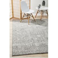 Rug Culture Homage Grey Transitional Runner 400x80cm