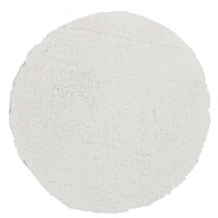 Pack of 3 Freckles Round Shag Flooring Rug Area Carpets White 60x60cm