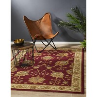 Rug Culture Classic Chobi Design Flooring Rugs Area Carpet Red 230x160cm