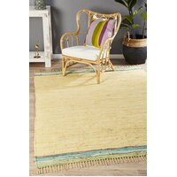 Boho Whimsical Flooring Rug Area Carpet yellow 320x230cm