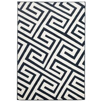 Rug Culture Indoor Outdoor Dolce Flooring Rugs Area Carpet Navy 330x240cm