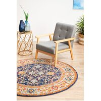 Rug Culture Splash Multi Transitional Flooring Rugs Area Carpet 200x200cm