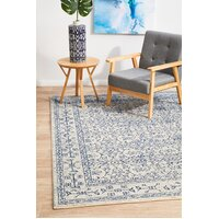 Rug Culture Whisper White Transitional Runner 400x80cm