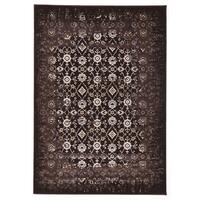 Rug Culture Royal Kashan Designer Runner Chocolate Brown 400X80cm
