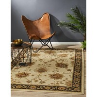 Rug Culture Classic Chobi Design Flooring Rugs Area Carpet Ivory 330x240cm