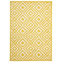 Rug Culture Indoor Outdoor Matrix Flooring Rugs Area Carpet Yellow 330x240cm