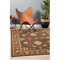 Rug Culture Nain Persian Design Flooring Rugs Area Carpet Brown Red 400x300cm