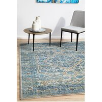 Duality Silver Transitional Flooring Rug Area Carpet 400x300cm