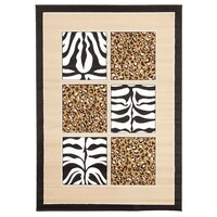 African Print Black and Off White Flooring Rug Area Carpet 330X240cm