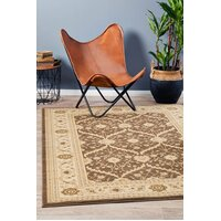 Rug Culture Chobi Design Flooring Rugs Area Carpet Brown Bone 400x300cm