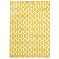 Rug Culture Indoor Outdoor Neo Flooring Rugs Area Carpet Yellow 290x200cm
