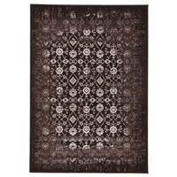 Rug Culture Royal Kashan Designer Runner Chocolate Brown 500X80cm